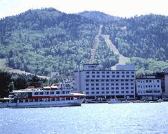 ホテル御前水の外観