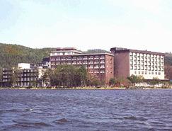 ホテル網走湖荘の外観