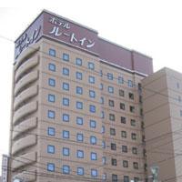 ホテルルートイン旭川駅前一条通の外観