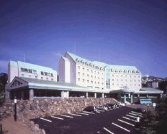 ホテルパークヒルズの外観