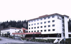 大雪山白金観光ホテルの外観