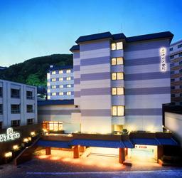 ホテルゆもと登別の外観