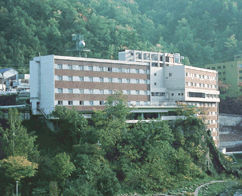 章月グランドホテルの外観