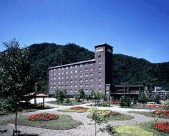 ホテル山渓苑の外観