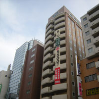 ホテルルートイン札幌駅前北口の外観