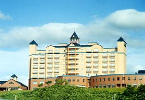 ホテルグランメール山海荘の外観