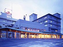 津軽のお宿 南田温泉ホテルアップルランドの外観