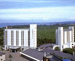 男鹿観光ホテルの外観