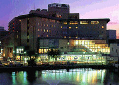 秋田キャッスルホテルの外観