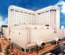 秋田ビューホテルの外観
