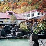 松川荘の外観