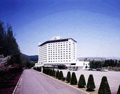八幡平ロイヤルホテルの外観