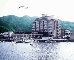 陸中海岸グランドホテルの外観