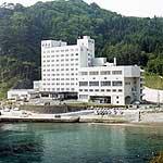 ホテル羅賀荘の外観