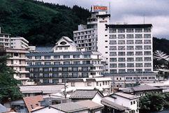 源蔵の湯 鳴子観光ホテルの外観