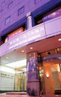 ホテルクラウンヒルズ仙台青葉通りの外観