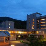 蔵王国際ホテルの外観