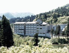 仙峡の宿 銀山荘の外観