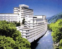 飯坂ホテル聚楽の外観