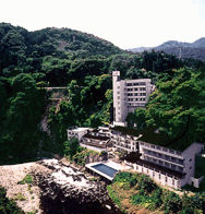 芦ノ牧ホテルの外観