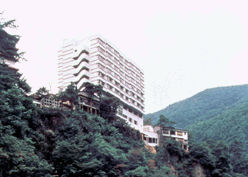 芦ノ牧グランドホテルの外観