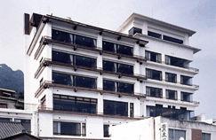 筑波山ホテル青木屋の外観