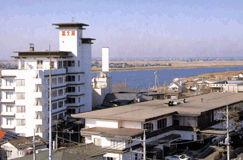 潮来富士屋ホテルの外観
