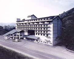 源泉遺産 那須塩原別邸(旧紀州鉄道 那須塩原ホテル)の外観