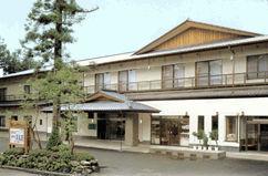ホテル清晃苑の外観