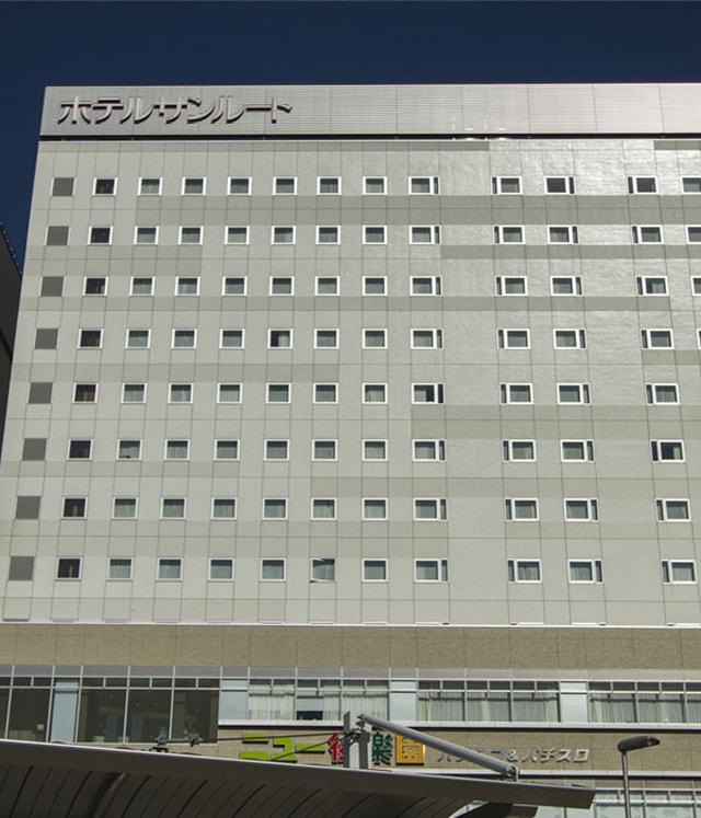 ホテルサンルート千葉の外観