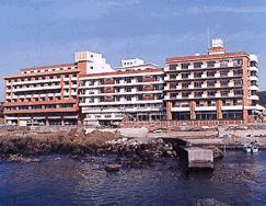 ホテル南海荘の外観
