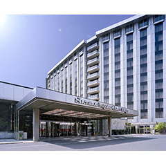 シェラトン都ホテル東京の外観