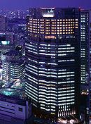 ストリングスホテル東京インターコンチネンタルの外観