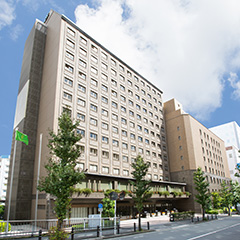 ホテルベルクラシック東京の外観