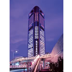 パークホテル東京の外観