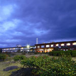 大島温泉ホテルの外観