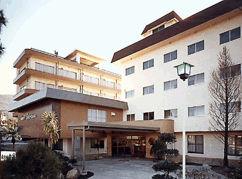 ホテル白岩の外観