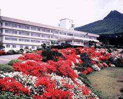 ホテル花月園の外観