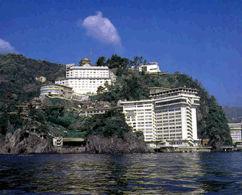 ホテルニューアカオロイヤルウイングの外観