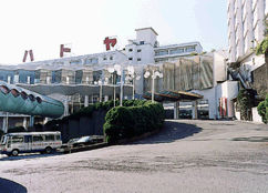 ハトヤホテルの外観