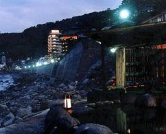 北川温泉ホテルの外観