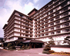 稲取銀水荘の外観