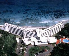 下田プリンスホテルの外観