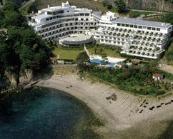 堂ヶ島温泉ホテルの外観