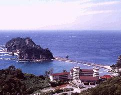 堂ヶ島アクーユ三四郎の外観