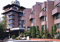美と健康と癒しの宿 ホテル八田の外観