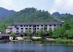 木戸池温泉ホテルの外観