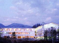 日本ダボスホテル山喜荘の外観