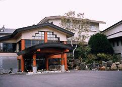 菅平高原ホテル柄澤の外観