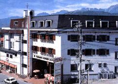栂池高原ホテルの外観